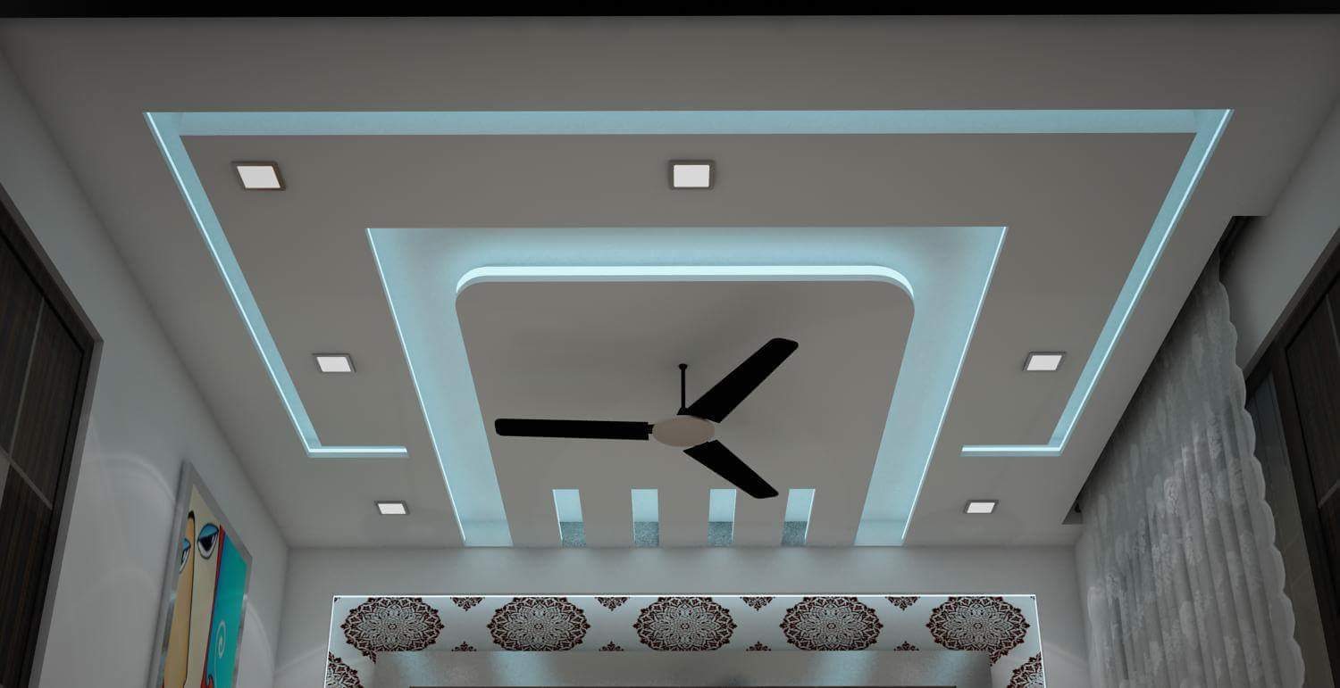 False ceiling contractors in kolkata false ceiling cost for Living room designs pop