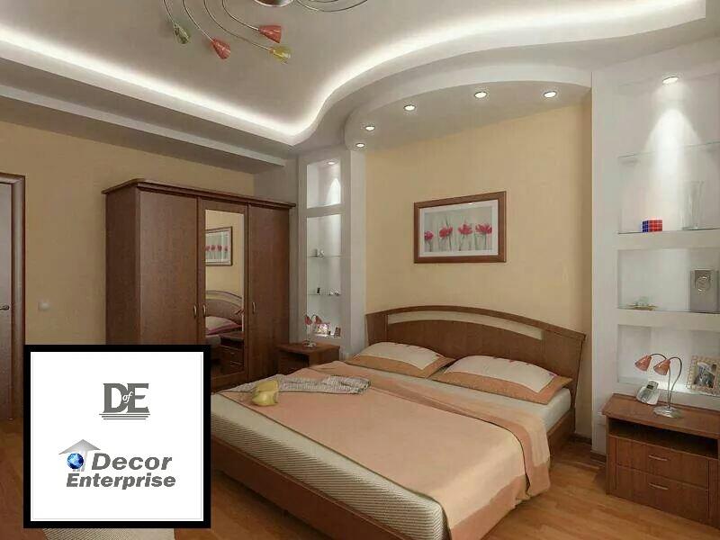 Bedroom interior soothing design