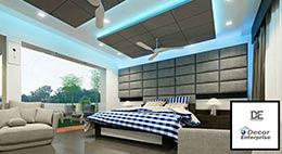 Light Color Bedroom Interior