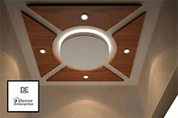 Plaster of paris false ceiling designs decor enterprise for International decor false ceiling